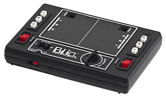 Tomy - The Tomy Blip was a mechanical Pong handheld released in the '70s.