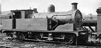 LCDR R class - No. 1675 at Tonbridge Locomotive Depot, 18 May 1946