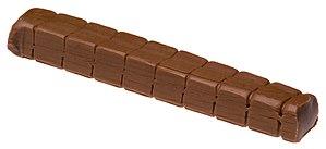 Tootsie Roll - A large Tootsie Roll log