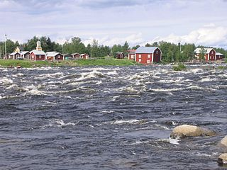 Torne (river) River in northern Sweden and Finland