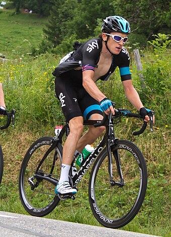 Thomas at the 2013 Tour de France. 536d2a272