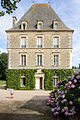 Tour sud du château de Tocqueville, Tocqueville, France.jpg