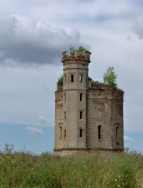 Tower in Ečka 2007
