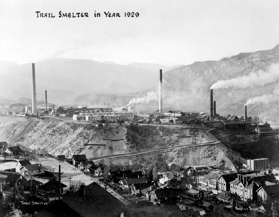Trail Smelter in Year 1929