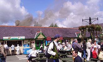 Snowdon Mountain Railway - Llanberis station
