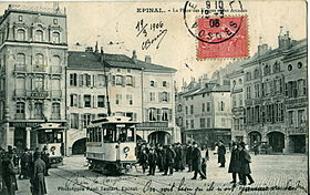 Image illustrative de l'article Tramway d'Épinal