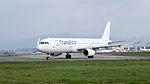 TransAsia Airways Airbus A321-231 B-22610 Departing from Taipei Songshan Airport 20150101c.jpg