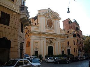 Santi Quaranta Martiri e San Pasquale Baylon, Rome - Facade