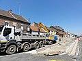 Travaux de la branche vers Vieux-Condé de la ligne B du tramway de Valenciennes fin juillet 2012 (046).JPG