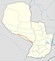 Trayecto Ruta 12 Paraguay.PNG