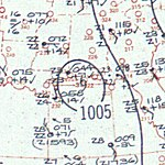 Tropical Storm Irene surface analysis October 8 1959.jpg