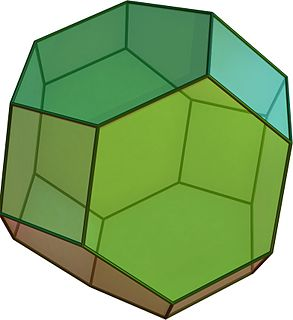 Truncated octahedron Archimedean solid
