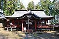 Tsutsukowake-jinja (Yatsuki) haiden.JPG