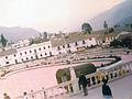 Turmequé. Plaza principal (Fotografía tomada en 1986)..jpg
