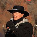 Tuscarora spokesman at Standing Rock and Beyond NoDAPL March on Washington, DC.jpg