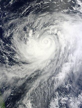 Typhoon Muifa (2011) - Image: Typhoon Muifa Aug 1 2011 0150Z