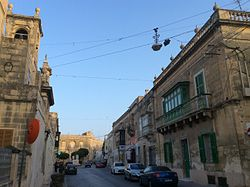 Historical centre in Tarxien