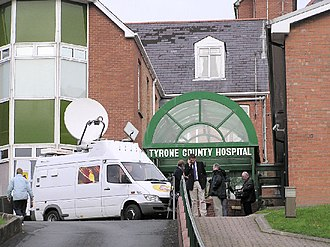 Omagh bombing - Tyrone County Hospital, where many of the bomb victims were taken.