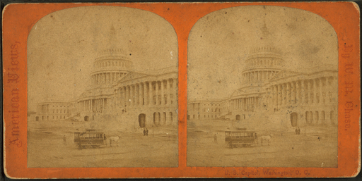 U.S. Capitol. Washington, D.C, by Chase, W. M. (William M.), 1818 - 9-1905 2