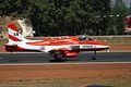 U2480 HAL HJT-16 Kiran Indian Air Force ( Surya Kiran Aerobatic Team ) (8414605704).jpg