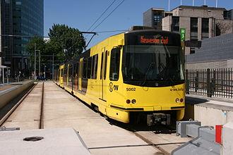 Qbuzz - Sneltram at Utrecht Centraal station in June 2014