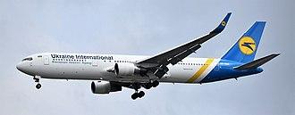 Ukraine International Airlines - UIA Boeing 767-300ER