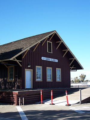 Santa Clara station (California) - Santa Clara Station, 2007