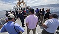 USCGC Bernard C. Webber hosts VIPs in August 2015 - 150825-F-FC975-635.jpg