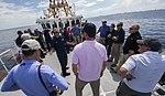 USCGC Bernard C. Webber hosts VIPs in August 2015 - 150825-F-FC975-635.jpg