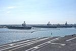 USS Abraham Lincoln (CVN-72), USS George H.W. Bush (CVN-77) and USS Gerald R. Ford (CVN-78) to Naval Station Norfolk on 22 September 2017 (170922-N-GK939-052).JPG