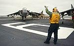 USS America conducts flight operations. (27015797322).jpg