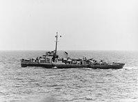 USS Chatelain (DE-149) underway in the Atlantic Ocean on 4 June 1944 (80-G-324344).jpg