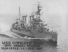 USS Concord, WWII.