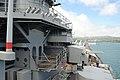 USS Missouri - Climbing up the Stairs (6180411618).jpg