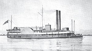 USS Ouachita (1863) - Image: USS Ouachita