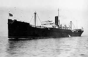 West Grama underway in 1919.