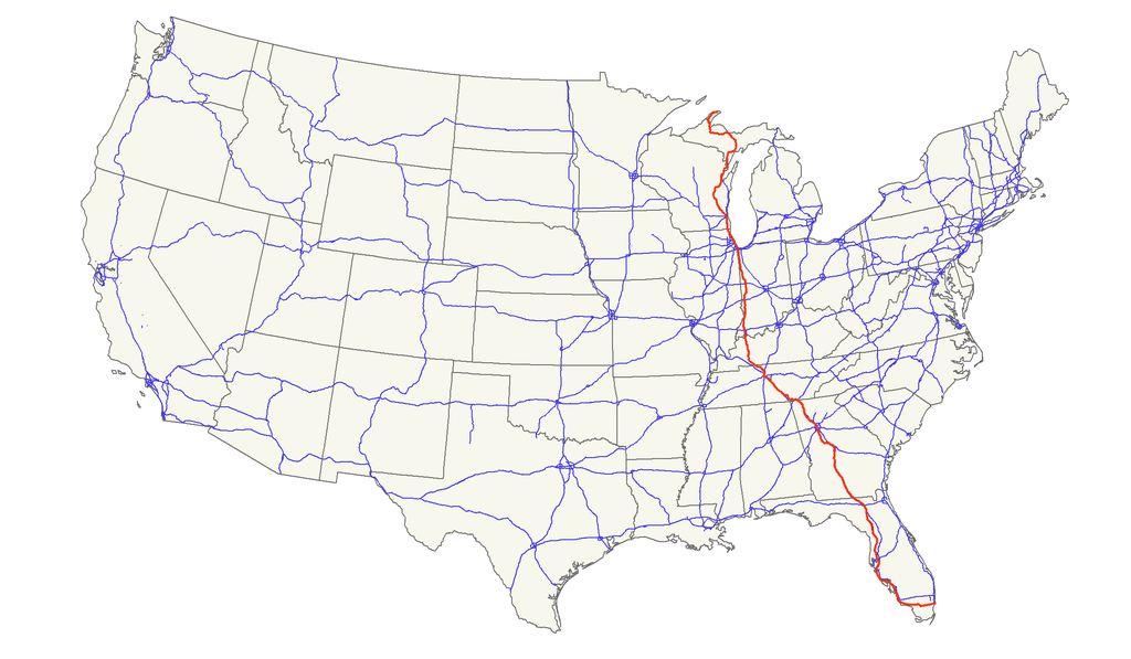 FileUS Mappng Wikimedia Commons - Us 41 map