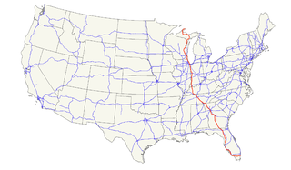 U.S. Route 41 Highway in the United States