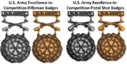US Army EIC Badges