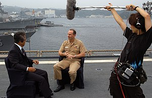 English: Yokosuka, Japan (Sept. 21, 2005) - Co...