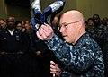 US Navy 100428-N-6509M-161 Capt. Chip Miller, commanding officer of the aircraft carrier USS George H.W. Bush (CVN 77),.jpg