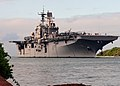 US Navy 100731-N-6854D-067 The Wasp-class amphibious assault ship USS Bonhomme Richard (LHD 6) returns to Joint Base Pearl Harbor-Hickam after participating in Rim of the Pacific (RIMPAC) 2010 exercises.jpg
