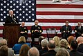 US Navy 110124-N-8273J-068 Chief of Naval Operations (CNO) Adm. Gary Roughead delivers the keynote address at the opening ceremony of the Wheeler C.jpg