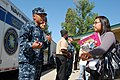 US Navy 110429-N-GO110-017 Aviation Boatswain's Mate 2nd Class Benedict Serafica, assigned to Naval Air Station Lemoore, speaks to a student at Ree.jpg