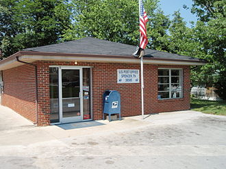 Spencer, Tennessee - US Post Office - Spencer, Tennessee