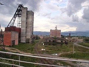 Zakarpattia Oblast - A salt mine in the town of Solotvyno.