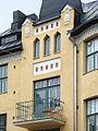 Un immeuble art nouveau de la rue Huvilakatu (Helsinki) (2771752928).jpg