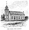Union Church, West Claremont 1885 engraving.jpg