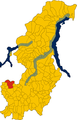 Unione di comuni lombarda Terre di Frontiera-mappa comuni.png
