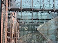 Interior of the United States Holocaust Memorial Museum